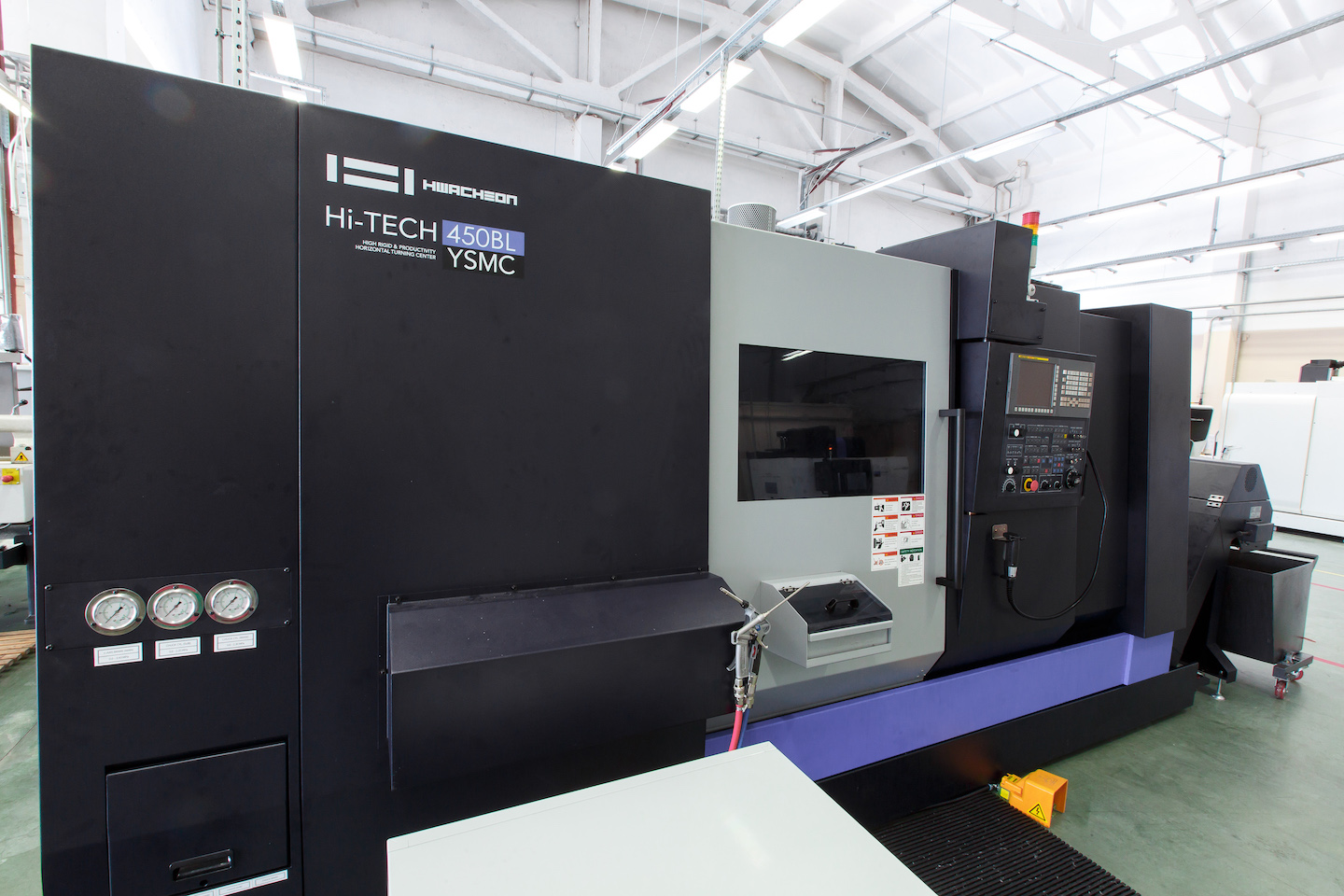 Hwacheon Hi Tech 450BL YSMC